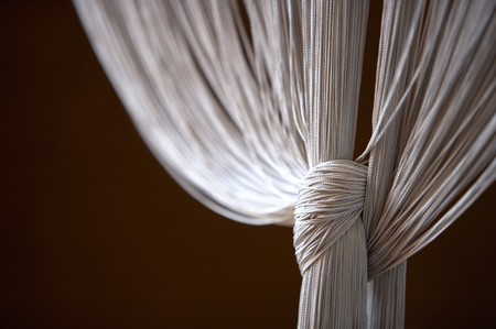 Close-up of a curtain