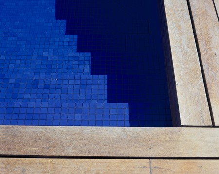 clave: View of a clear swimming pool Stock Photo