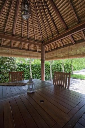 Gazebo in a tourist resort Stock Photo - 7175316