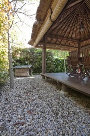 Gazebo in a tourist resort Stock Photo - 7175136