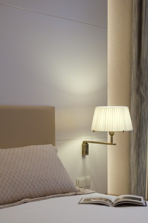 accommodation space: Interiors of a bedroom