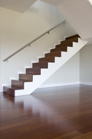 laminate flooring: Staircase