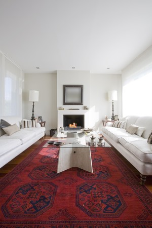 Interiors of a living room Stock Photo - 7174492