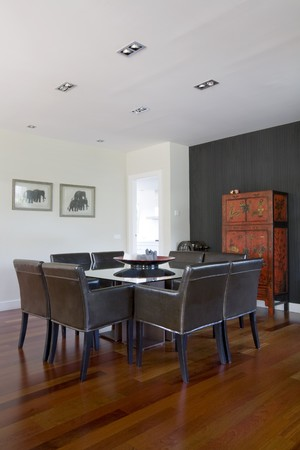 salle � manger: Interiors of a dining room
