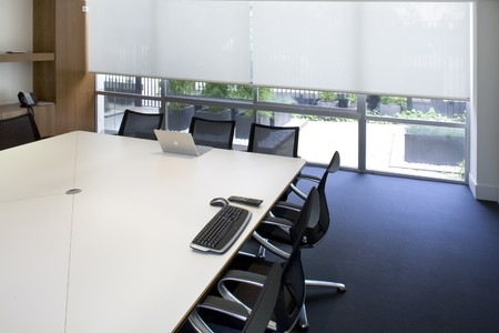 Interiors of a board room Stock Photo - 7171677