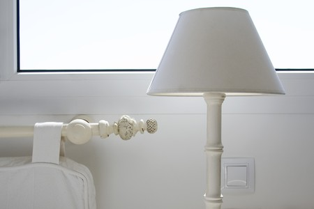 lampshade: Close-up of a lampshade