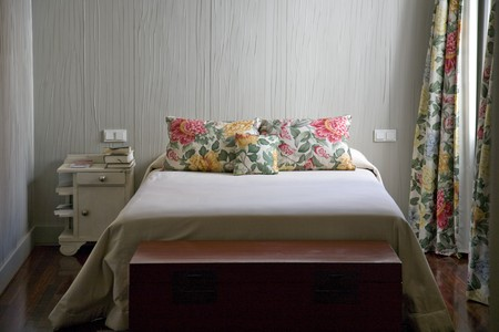 Interiors of a bedroom Stock Photo - 7174504