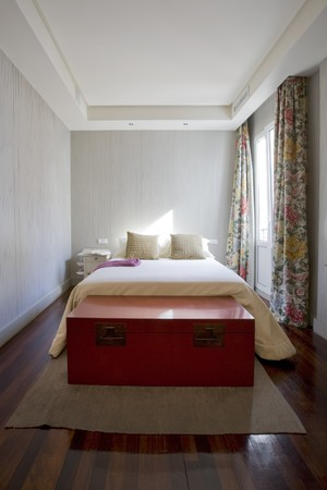 Interiors of a bedroom Stock Photo - 7171665