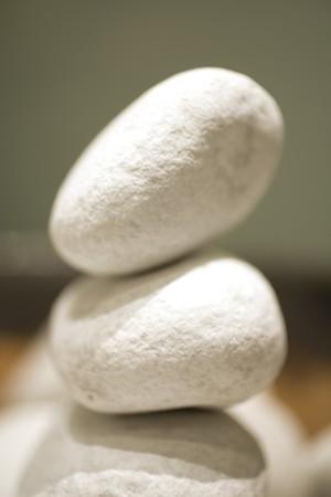 Close-up of pebbles photo