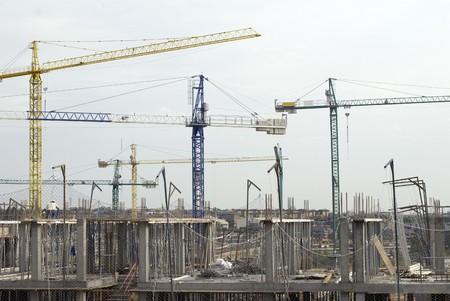 Building under construction Stock Photo - 7177346