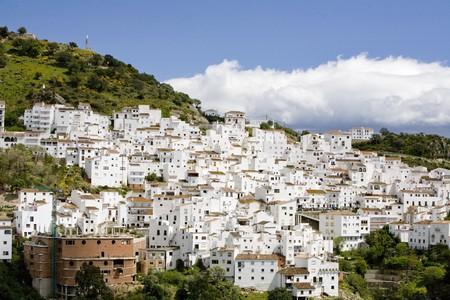 Buildings in a city, Estrecho De Gibraltar, Algeciras, Cadiz Province, Andalusia, Spain Stock Photo