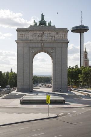 Arco de la Victoria, Victory Arch, Moncloa, Madrid, Spain photo