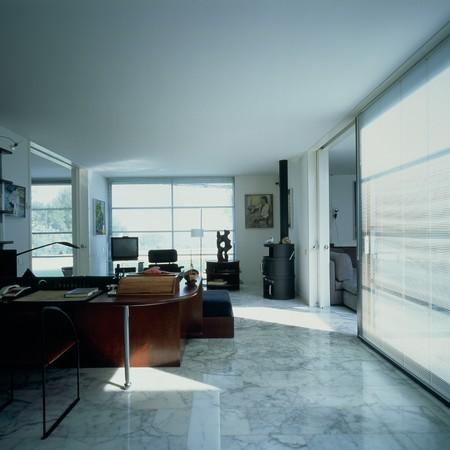 marble flooring: Visualizzazione di un Ministero degli interni spazioso