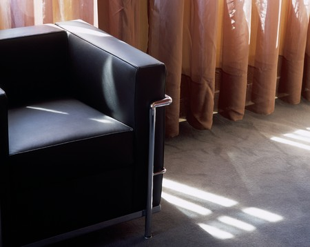 View of a cushioned chair in a room Stock Photo - 7215196