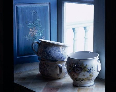 Close up of ceramic wares LANG_EVOIMAGES
