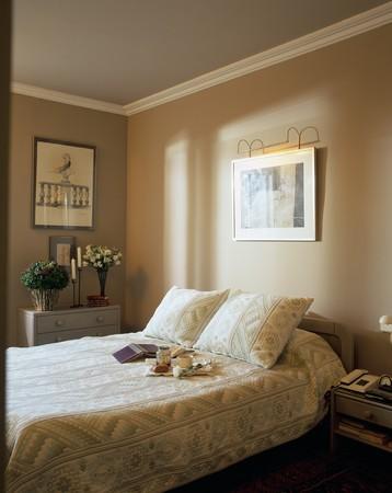 spanish homes: Visualizzazione di un accogliente camera da letto