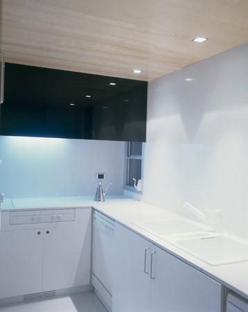 View of an illuminated kitchen Stock Photo - 7215326
