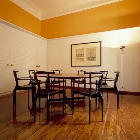 spanish homes: Visualizzazione di una sala da pranzo pulita  LANG_EVOIMAGES