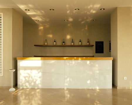 View of a neat bar counter Stock Photo - 7215358