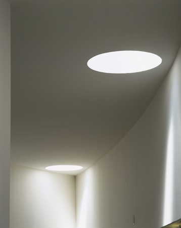 mediterranian style: View of an illuminated ceiling