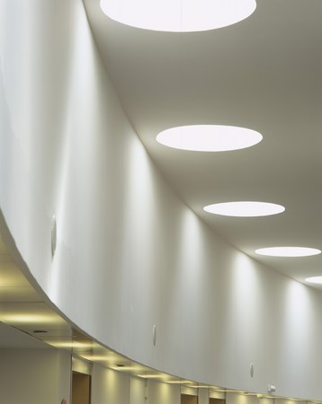 mediterranian homes: View of an illuminated ceiling