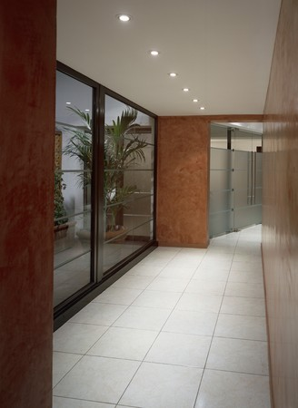 View of a spacious passageway Stock Photo - 7215395