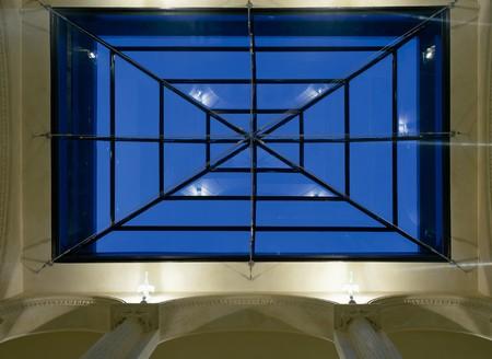 mediterranian home: View of a skylight