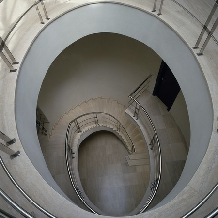 View of a winding staircases Stock Photo - 7215407