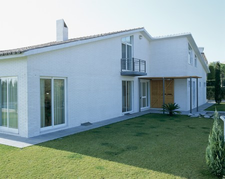 spanish homes: Vista di una casa elegante