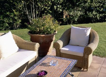 Exter furniture Stock Photo - 7223887