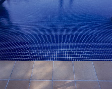 View of a clear swimming pool Stock Photo - 7223915
