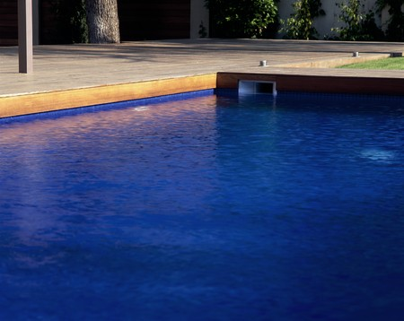View of a clear swimming pool Stock Photo - 7223920