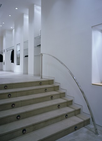 otras palabras clave: View of a staircase in a shop