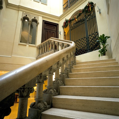 View of a stairway in a hotel Stock Photo - 7223977