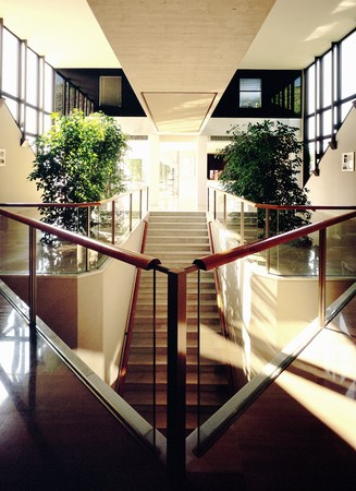 View of a stairway in a hotel Stock Photo - 7223982