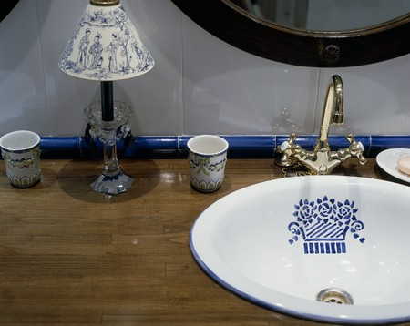 View of ornaments near a sink Stock Photo - 7224016