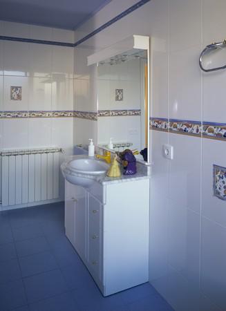 otras palabras clave: View of an elegant bathroom