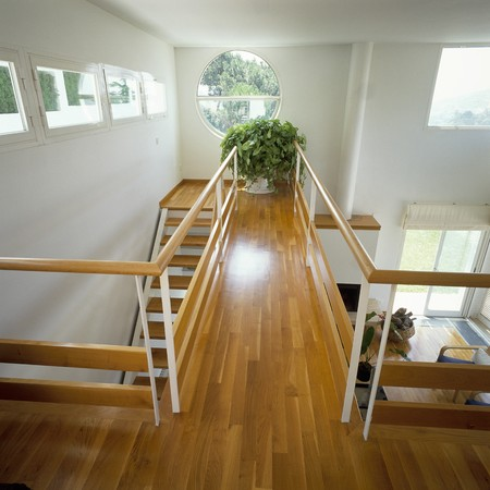 View of a wooden stairway Stock Photo - 7224086