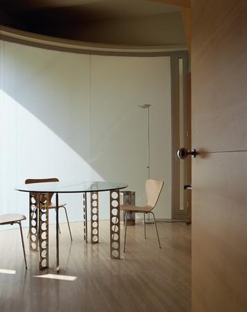spanish homes: Vista della zona pranzo pulita LANG_EVOIMAGES