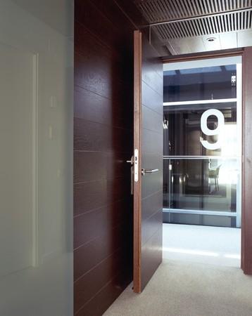 otras: View of an open doorway