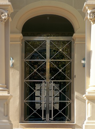 View of a designed door Stock Photo - 7224125
