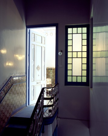 View of an open doorway to a house Stock Photo - 7224131