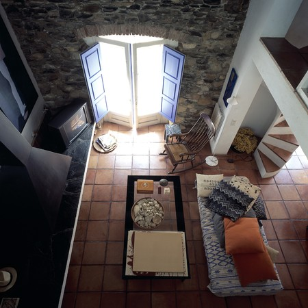 otras: View of a living room from top LANG_EVOIMAGES