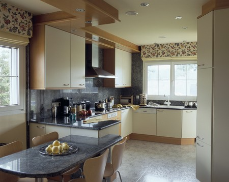 otras palabras clave: View of an elegant kitchen