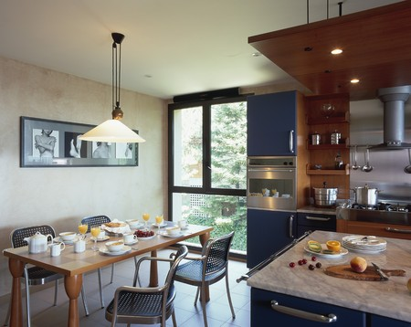 eclectic: View of an eclectic kitchen
