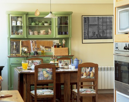 otras: View of a cozy dining area