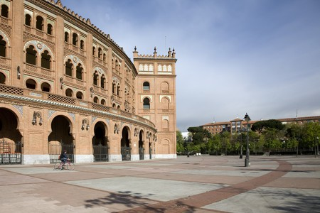 Courtyard of a bullring, Las Ventas Bullring, Madrid, Spain Stock Photo - 7353824