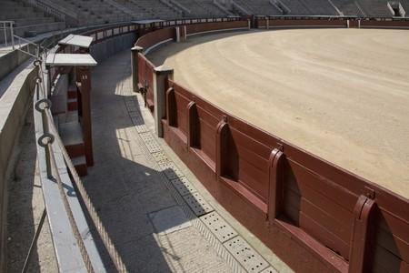 las ventas: Arena of a bullring, Las Ventas Bullring, Madrid, Spain