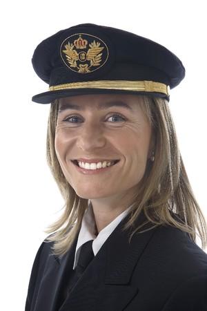 Pilot woman Stock Photo - 7475700