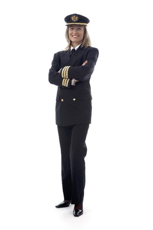 Pilot woman Stock Photo - 7475591